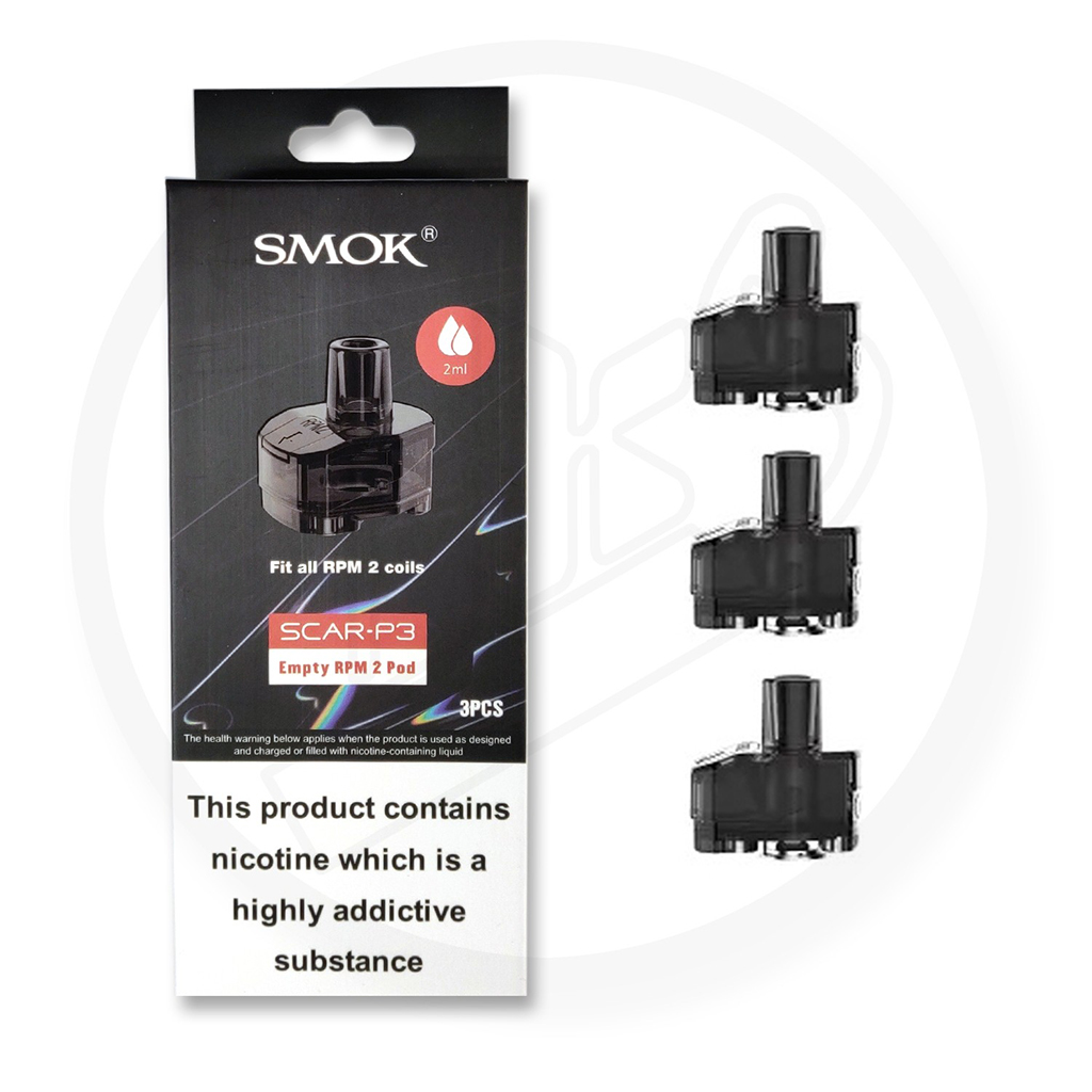 Smok Scar P3 Replacement Pod Pack